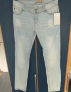 Nowe z metką jasne jeansy YUPS...