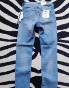 denim h&m m zip shaping asos zara rurki jeansy spodnie przetarcia