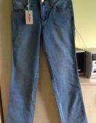 spodnie wyszczuplające jeansy r 34 NOWE