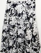 biała granatowa spódnica 4446