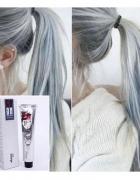 Farba do włosów szara jasna trwała siwe włosy gray