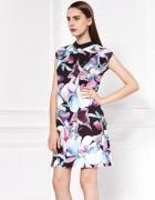 Sukienka MOHITO w kwiaty
