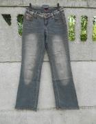 szare Spodnie S jeans Early 20