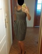 Szara sukienka Dorothy Perkins rozmiar M L