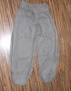 spodnie aladynki khaki rozmiar S