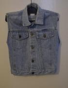 jeansowa kamizelka 36 38 S M