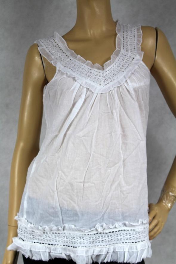 Bluzki Biała bluzka PASSPORT M P13021