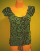 Bluzka koszulka panterka zebra