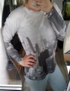 Bluza z printem
