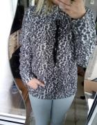 Polarowa Bluza w panterke