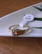 18kt duży rozmiar przepiękny pierścioneczek