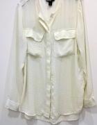 kremowa bluzka H&M 44