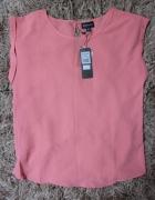 Różowa elegancka bluzka...