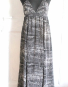 Piękna koktajlowa maxi sukienka r S...