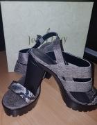 Sandały szare