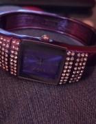Zegarek z kryształkami swarovski