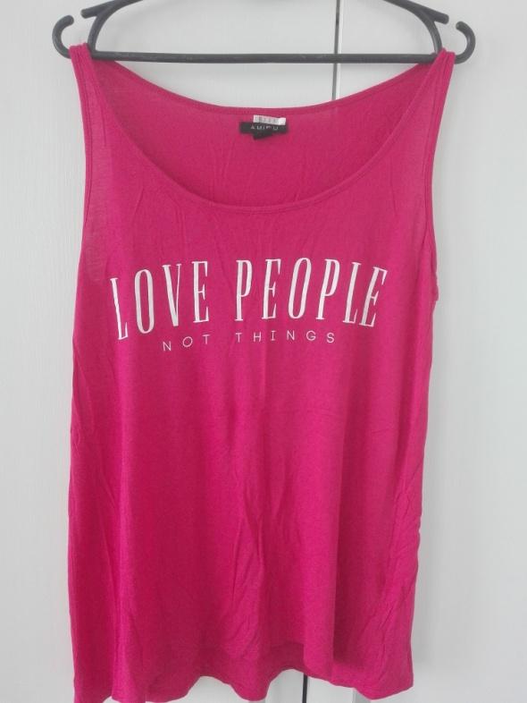 różowa bluzka amisu...