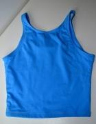 Nike błękitny niebieski top XS 34