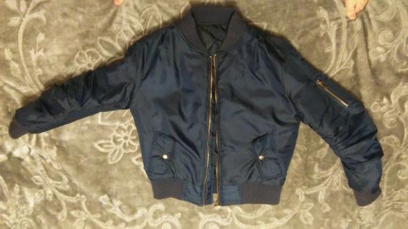 Kurtka bomberka granatowa bomber jacket tumblr girl