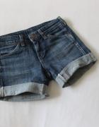 spodenki jeansowe wrangler xs
