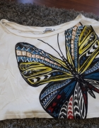 crop top motyl terranova xs