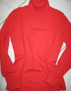 s OLIVER czerwony golf damski roz 36