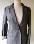 Marynarka Szara H&M L 40 Elegancka Grey
