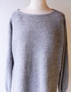 Sweter Szary Only Oversize XL 42 Sweterk Szarość Grey