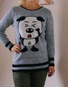 sweter panda