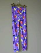 Oldschoolowe legginsy lata 90