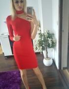 R E D dress