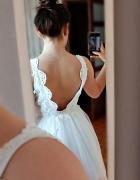 Biała sukienka...