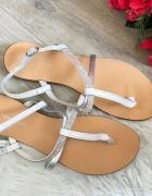 Skórzane sandały New Look 38