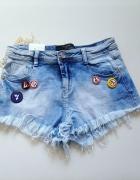 jeansowe szorty S