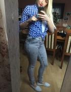 nowe jeansy...
