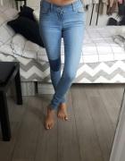 Spodnie jeansowe damskie Levis