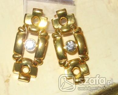 złote kolczyki greckie