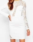 ASOS koronkowa sukienka zdobienia exclusive nowa