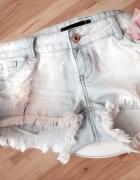 Jeansowe szorty tally weijl