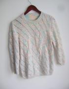 sweterek rękawy 3 4