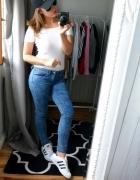Spodnie rurki jeans