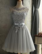 Sukienka koronka tiul kokardka wesele ostatnia sztuka...