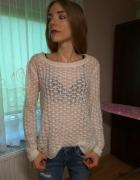 Sweter ażurkowy Atmosphere