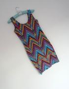 sukienka Asos aztec boho 34 36 Sukienka marki ASOS...