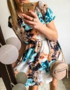 Sukienka Damska w żywy kolory M