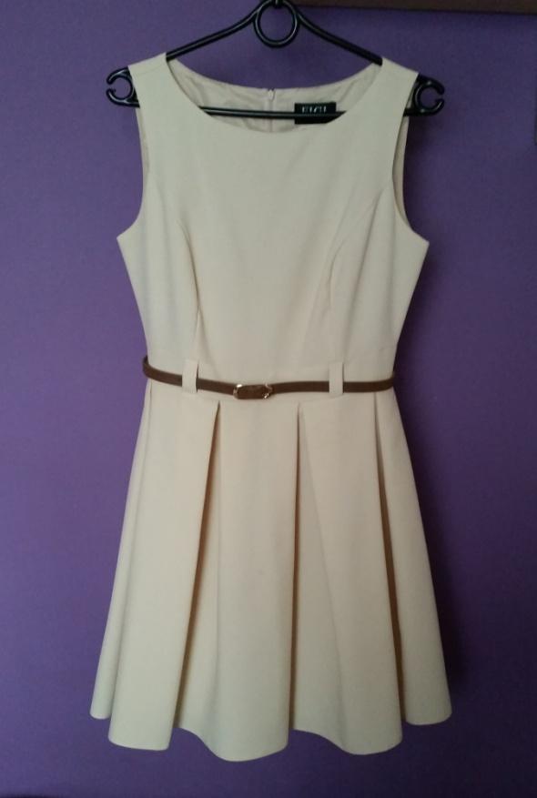 Suknie i sukienki Klasyczna sukienka FIGL 36 38