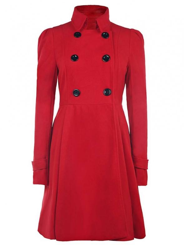 Odzież wierzchnia Nowy czerwony płaszcz XL