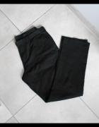 Next męskie spodnie garniturowe czarne eleganckie...