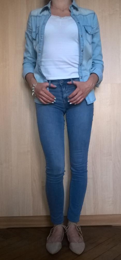 Codzienne Wiosenny jeans