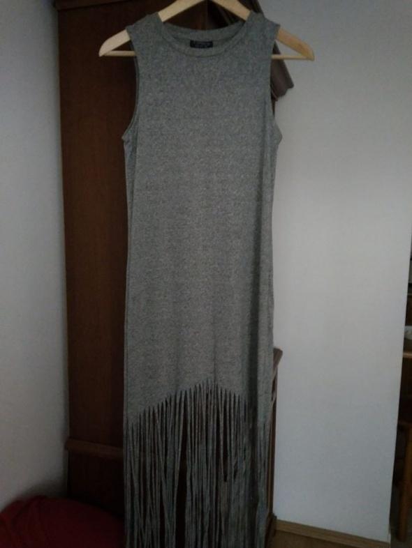 Suknie i sukienki Sukienka z frędzlami PIEKNA